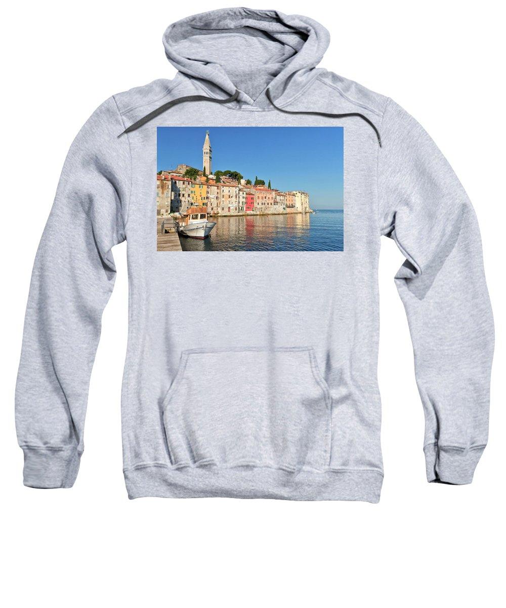 Adriatic Sweatshirt featuring the photograph Rovinj2 by Jaroslav Frank