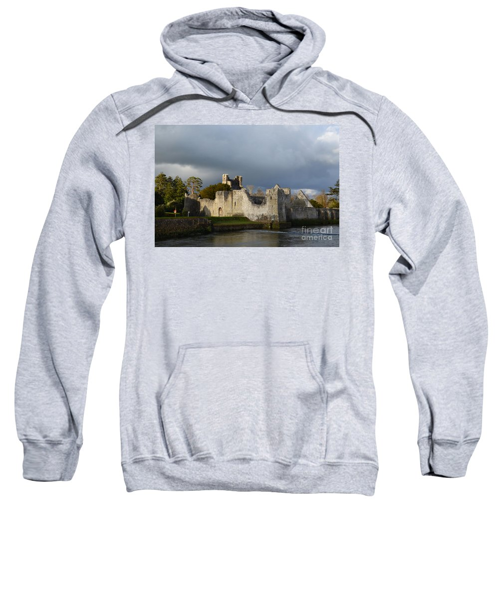 Desmond Castle Sweatshirt featuring the photograph Ruins Of Desmond Castle by DejaVu Designs