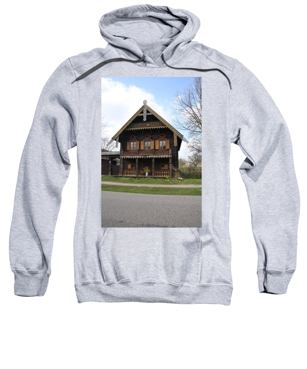 Village Sweatshirt featuring the photograph Russian Village - Potsdam by Christiane Schulze Art And Photography