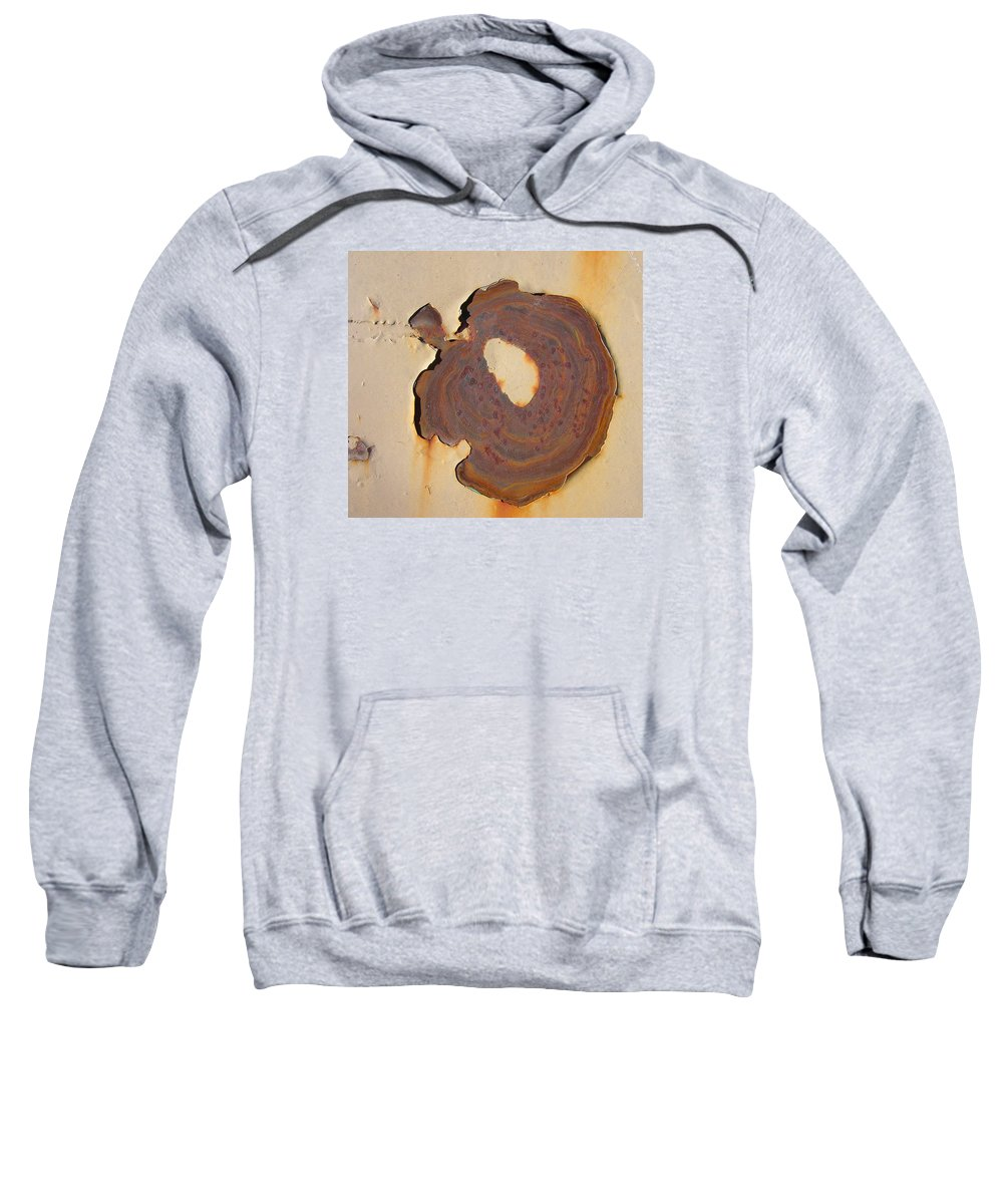 Rust Sweatshirt featuring the painting Rust #2 by Susan Porter