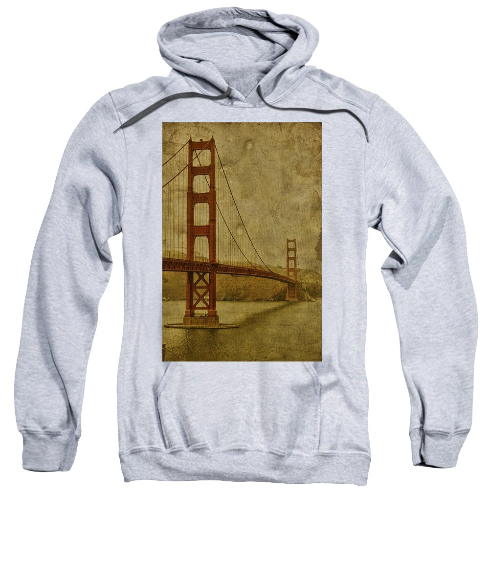 San Sweatshirt featuring the photograph Safe Passage by Andrew Paranavitana