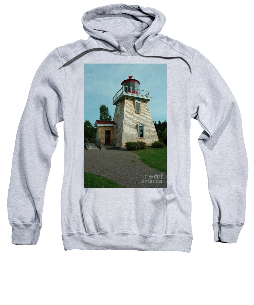 Saint Sweatshirt featuring the photograph Saint Martin's Lighthouse by Kathleen Struckle