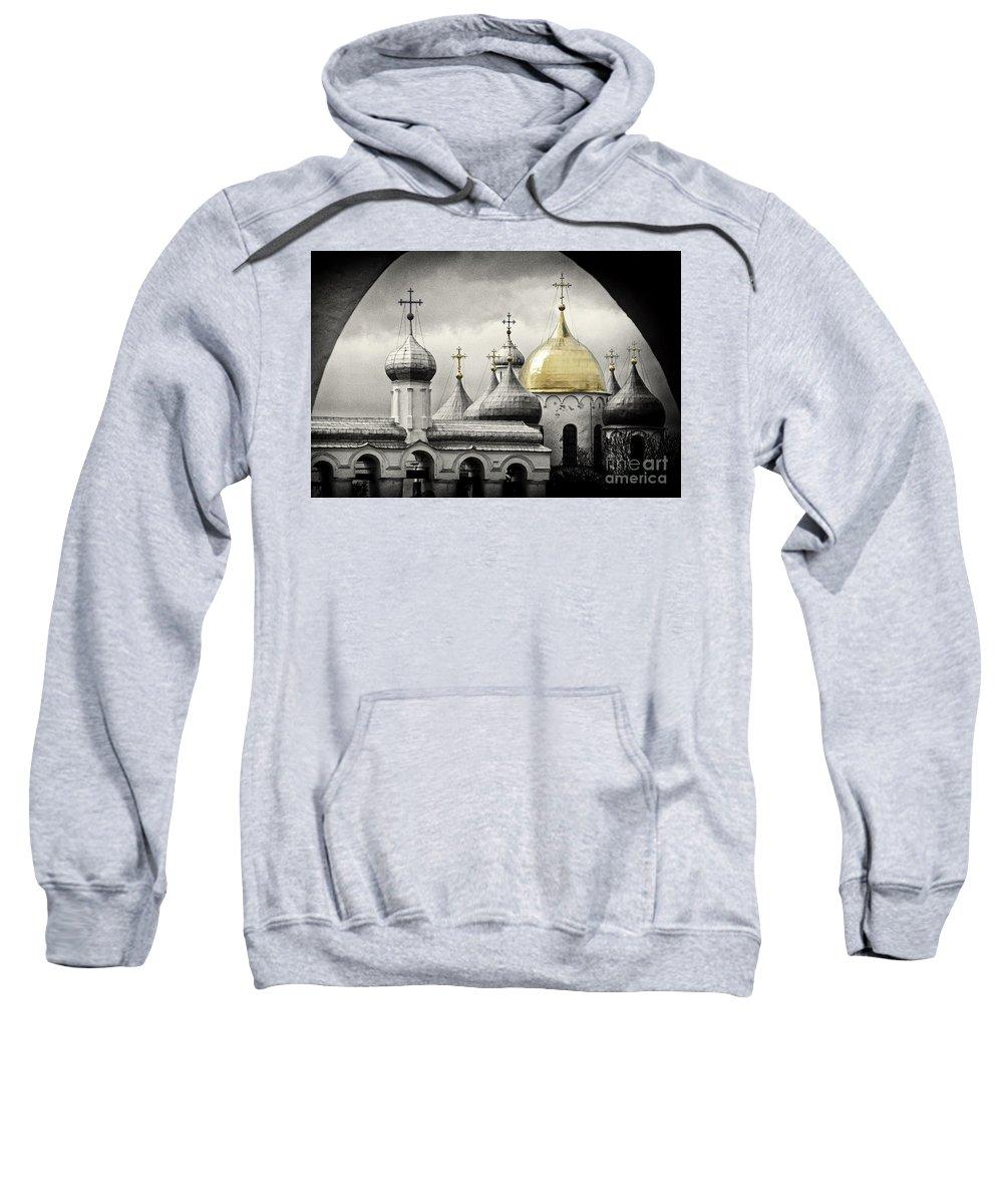 Sweatshirt featuring the photograph Saint Sophia by Karla Weber