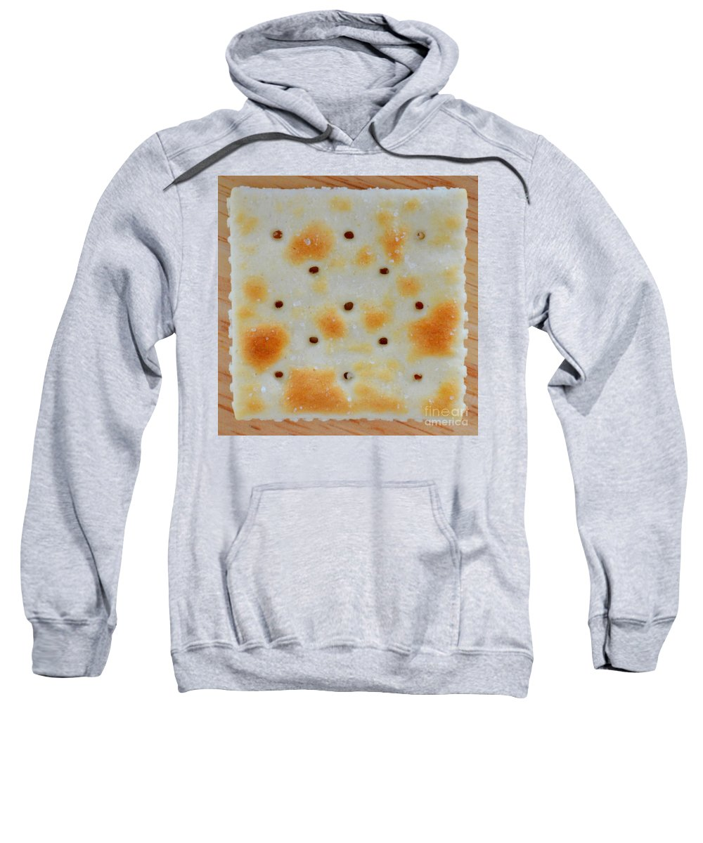 Cracker Sweatshirt featuring the photograph Saltine by Mary Deal