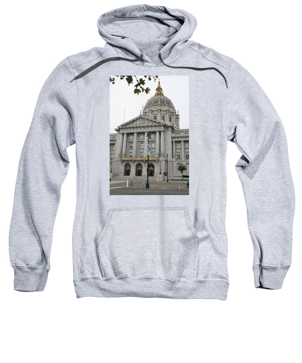 San Francisco Sweatshirt featuring the photograph San Francisco City Hall by Christiane Schulze Art And Photography