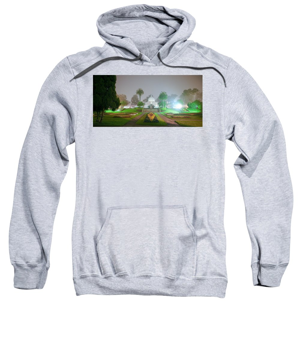 Conservatory Of Flowers Sweatshirt featuring the photograph San Francisco Conservatory Of Flowers by Daniel Furon