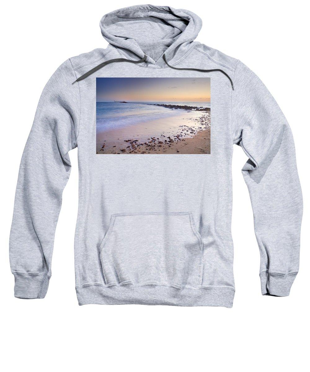 Sancti Petri Sweatshirt featuring the photograph Sancti Petri Castle Island by Guido Montanes Castillo