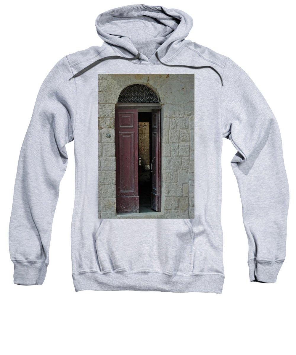 Castles Sweatshirt featuring the photograph Sanctum by Joseph Yarbrough