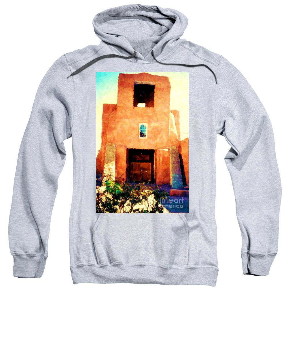 San Miguel Sweatshirt featuring the photograph Sanmiguel by Desiree Paquette