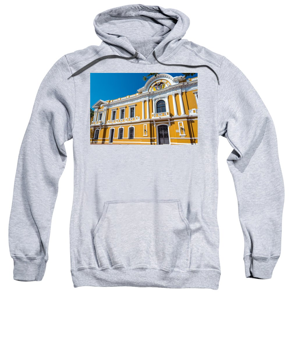 Marta Sweatshirt featuring the photograph Santa Marta City Hall by Jess Kraft