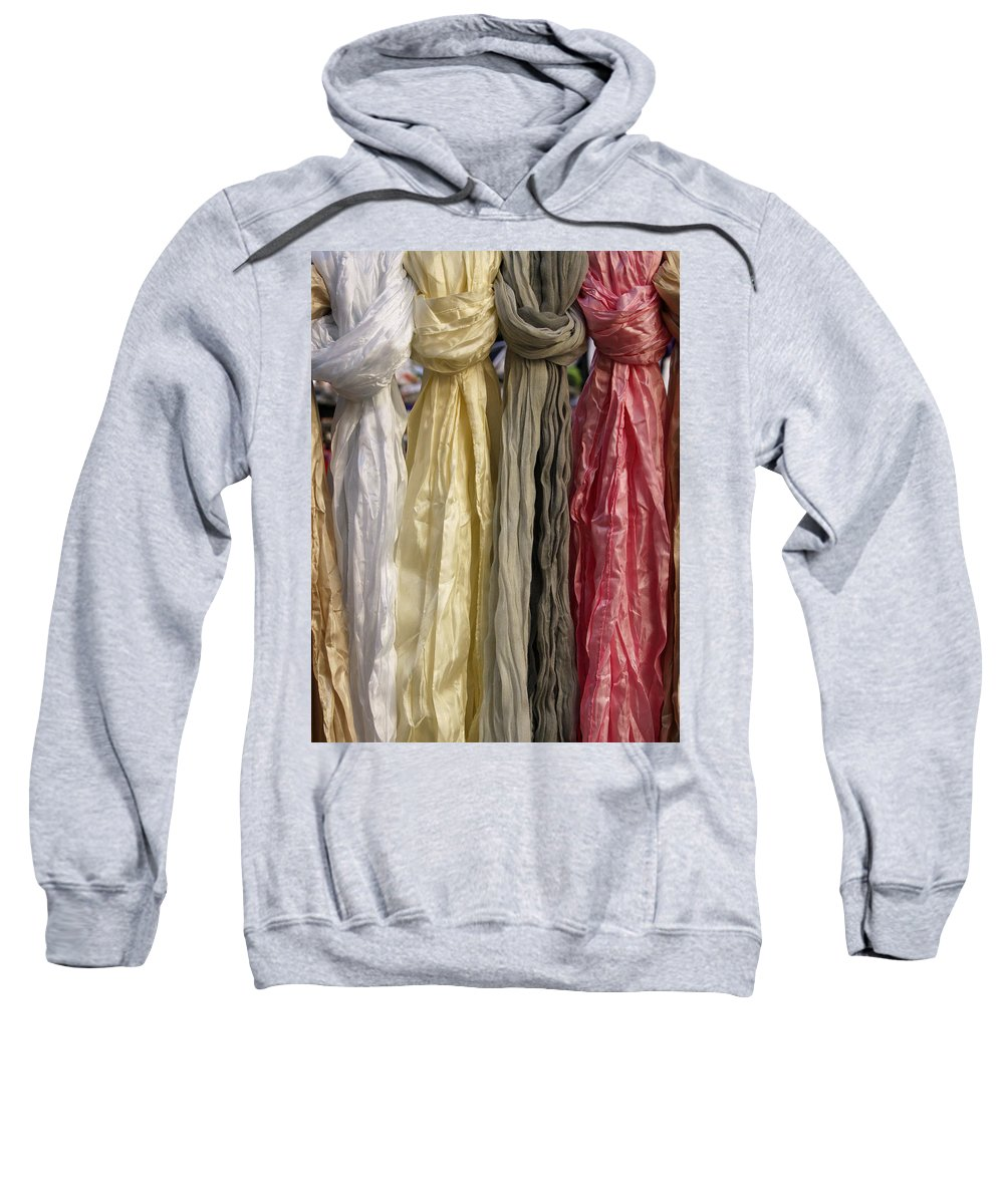 Satin Sweatshirt featuring the photograph Satins Di Venezia by Rick Locke