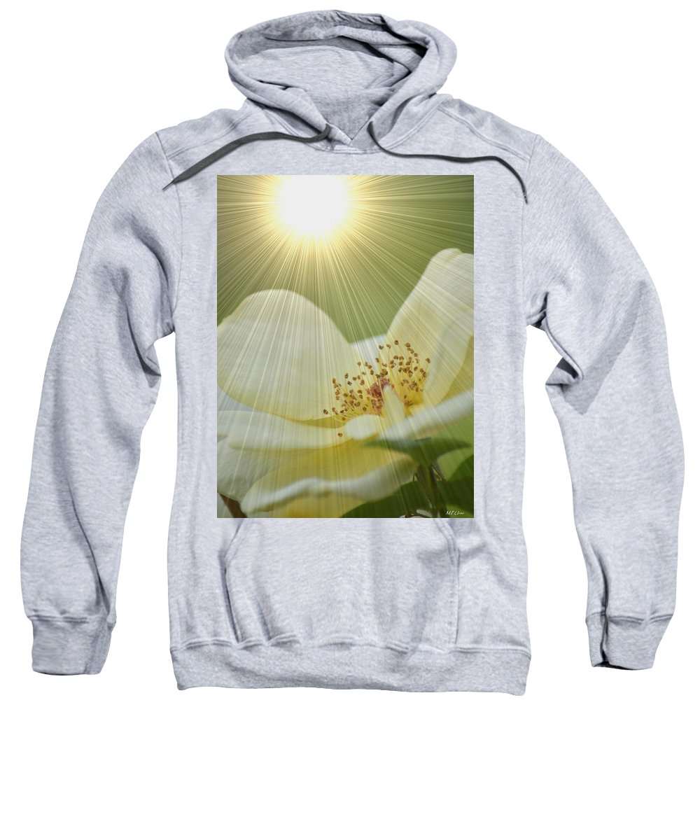 Saved By Grace Sweatshirt featuring the photograph Saved By Grace by Maria Urso