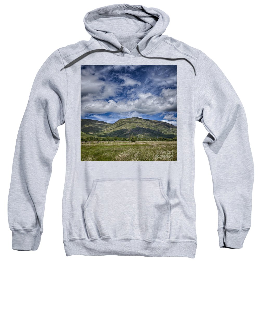 Loch Sweatshirt featuring the photograph Scotland Loch Awe Mountain Landscape by Sophie McAulay