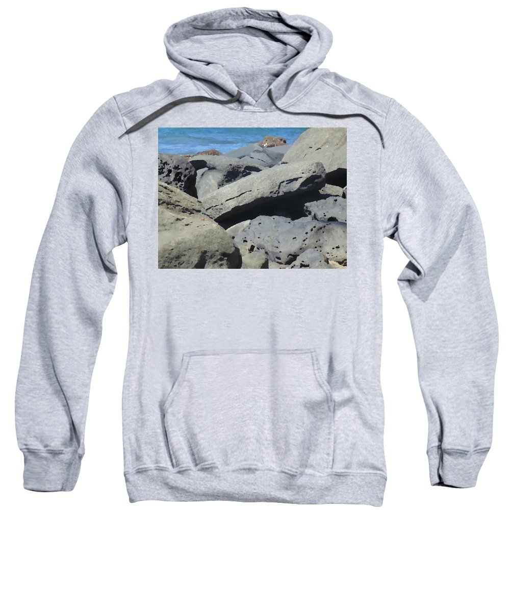 Photography Sweatshirt featuring the photograph Sea Life 3 by Marcello Cicchini