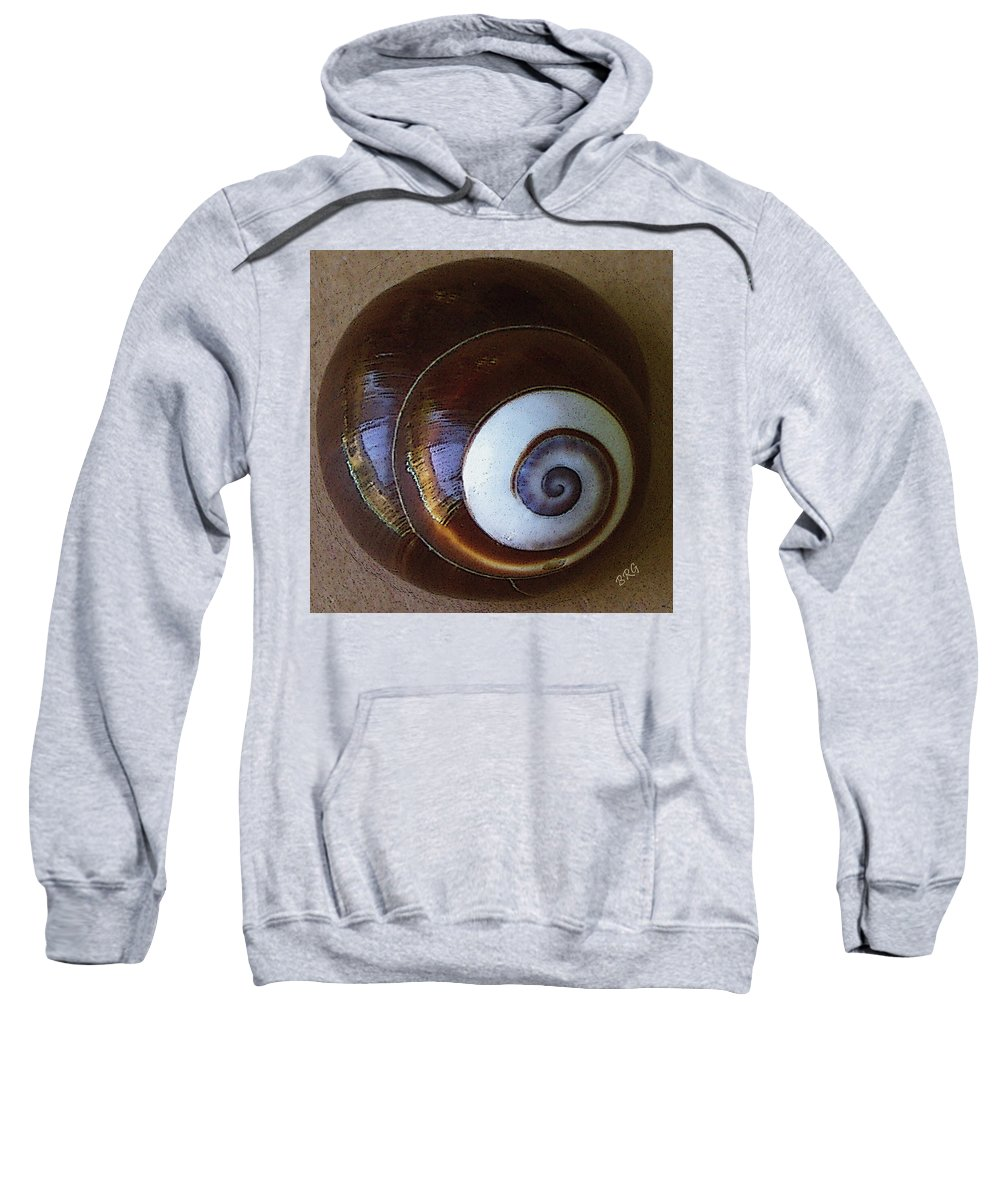 Seashell Sweatshirt featuring the photograph Seashells Spectacular No 26 by Ben and Raisa Gertsberg