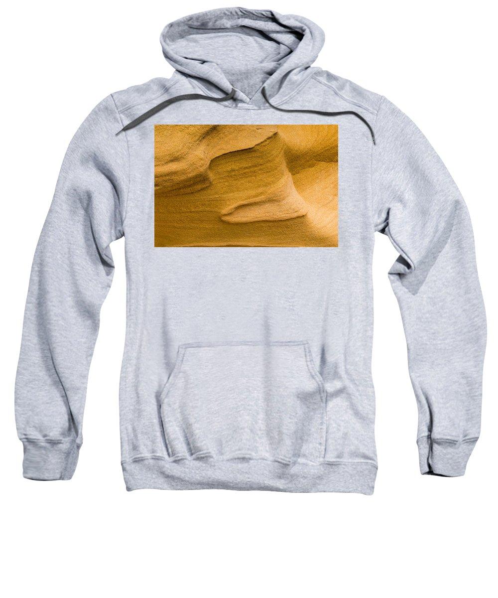 Stone Texture Sweatshirt featuring the photograph Sensual Sand by Edgar Laureano