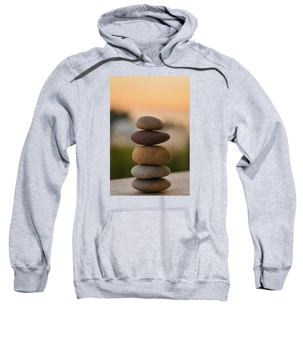 Sunset Sweatshirt featuring the photograph Serenity by Marco Oliveira