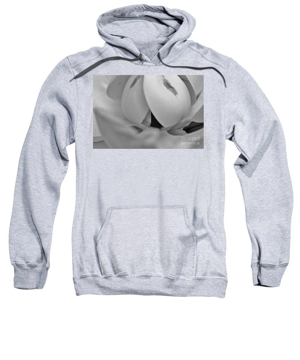 Kerisart Sweatshirt featuring the photograph Shades Of Grey Magnolia's by Keri West