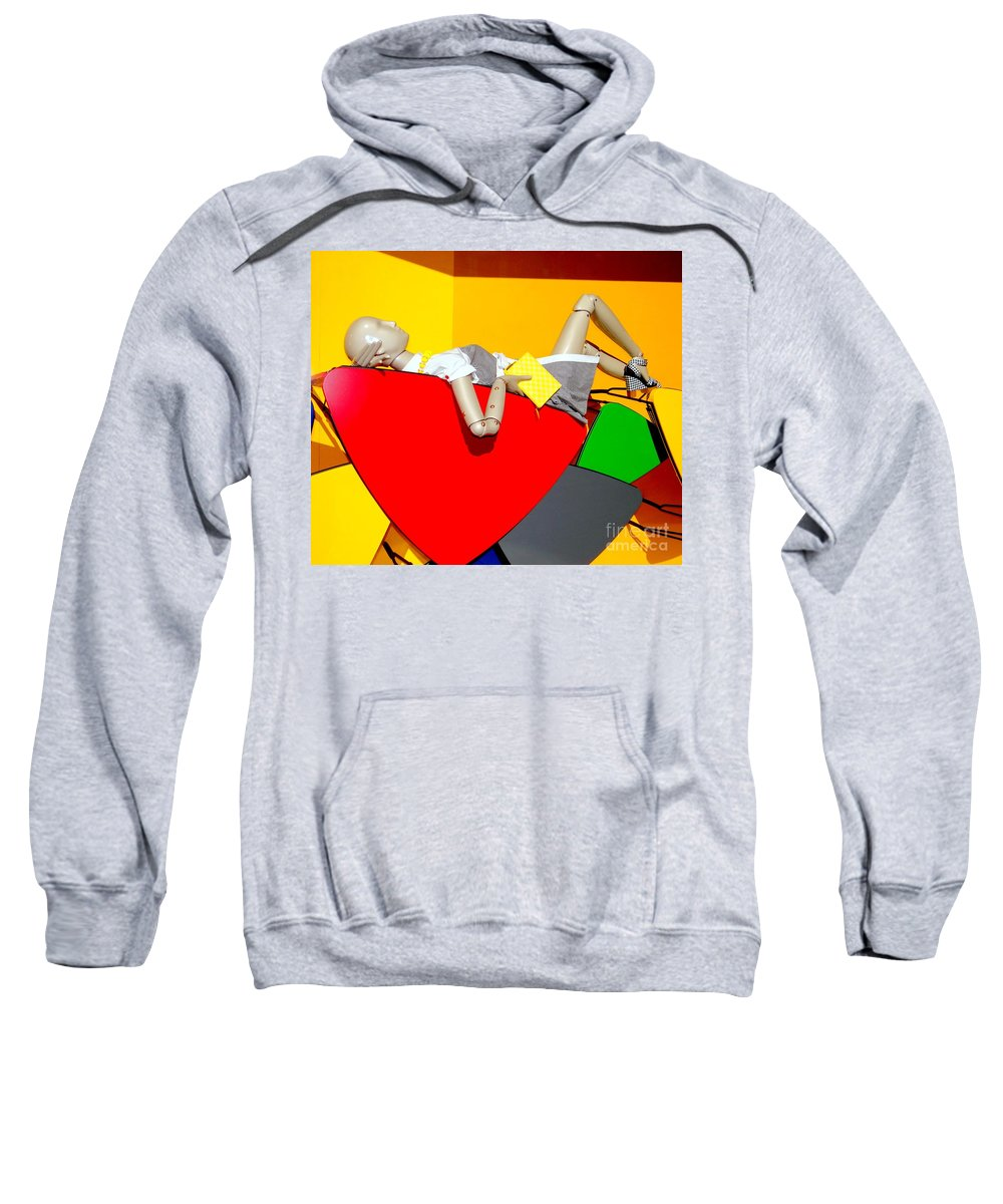 Mannequins Sweatshirt featuring the photograph Shapes And Style by Ed Weidman