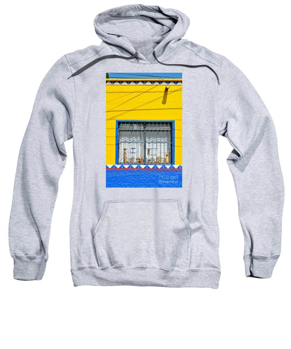 Mexico Sweatshirt featuring the photograph Shop Window - Mexico - Photograph By David Perry Lawrence by David Perry Lawrence