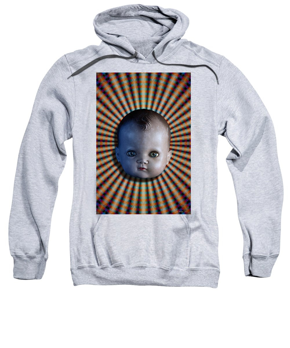 Doll Sweatshirt featuring the photograph Sirkus by WB Johnston
