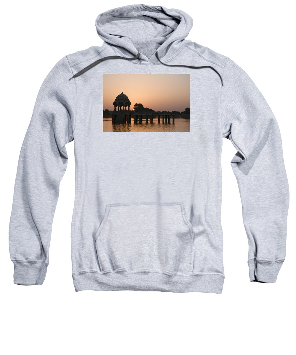 Good Sweatshirt featuring the photograph Skn 1356 Good Morning Jaisalmer by Sunil Kapadia