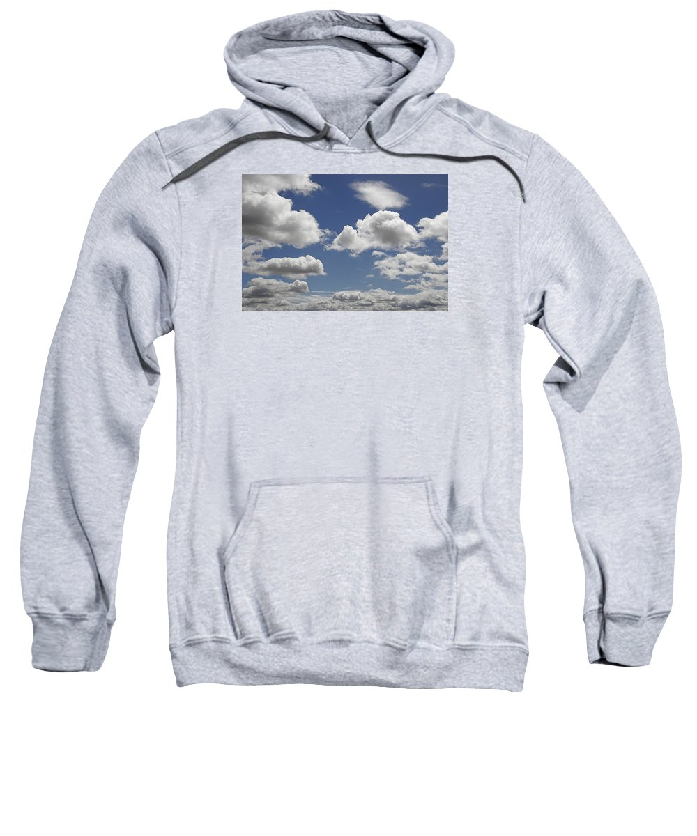 Thick Sweatshirt featuring the photograph Skc 0328 The June Clouds by Sunil Kapadia