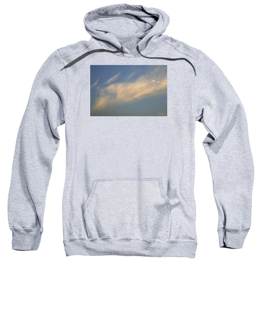 Stray Sweatshirt featuring the photograph Skc 0346 Floating With Freedom by Sunil Kapadia