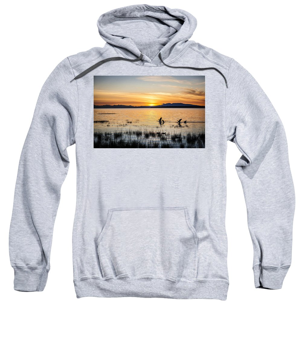 Kyle Lavey Photography Photographs Sweatshirt featuring the photograph Sleeping Lady by Kyle Lavey