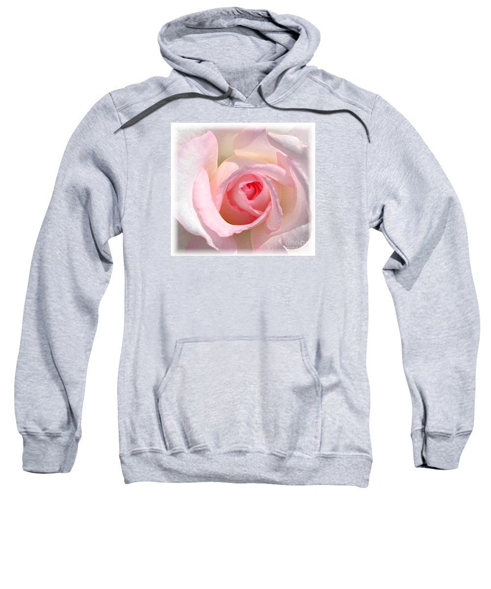 #white Sweatshirt featuring the photograph Softness by Kathleen Struckle