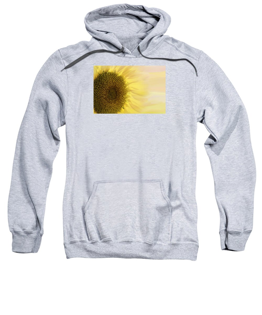 Sunflower Sweatshirt featuring the photograph Solar Flare by Diane Schuster