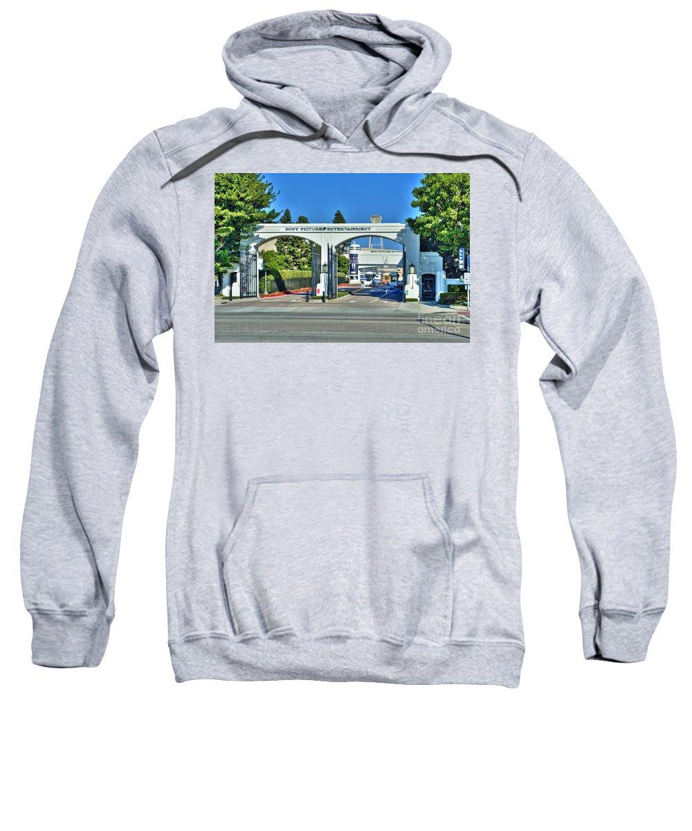 Sony Pictures Entertainment Sweatshirt featuring the photograph Sony Pictures Entertainment Inc. Spe by David Zanzinger