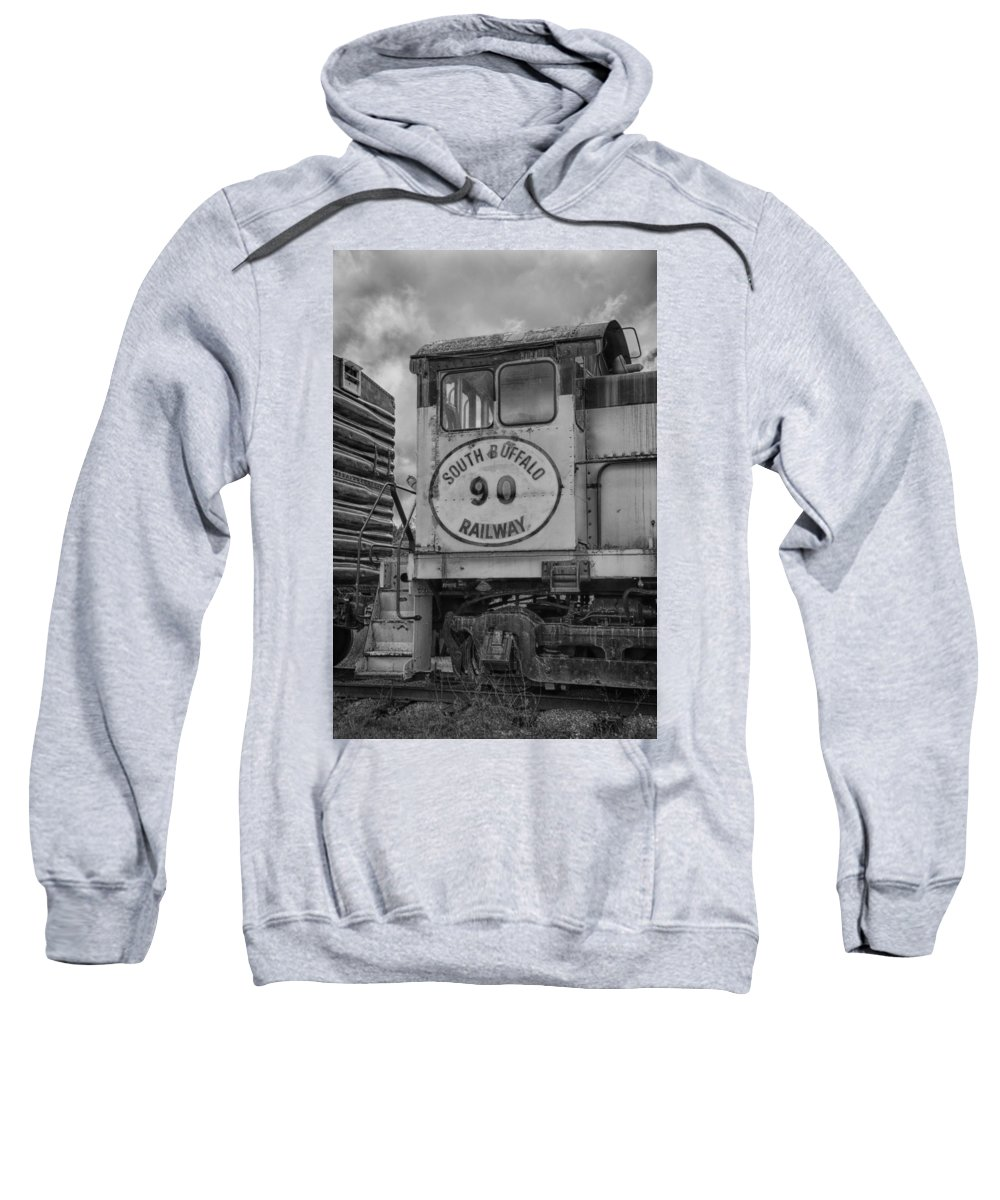Guy Whiteley Photography Sweatshirt featuring the photograph South Buffalo Railway 7d06191b by Guy Whiteley