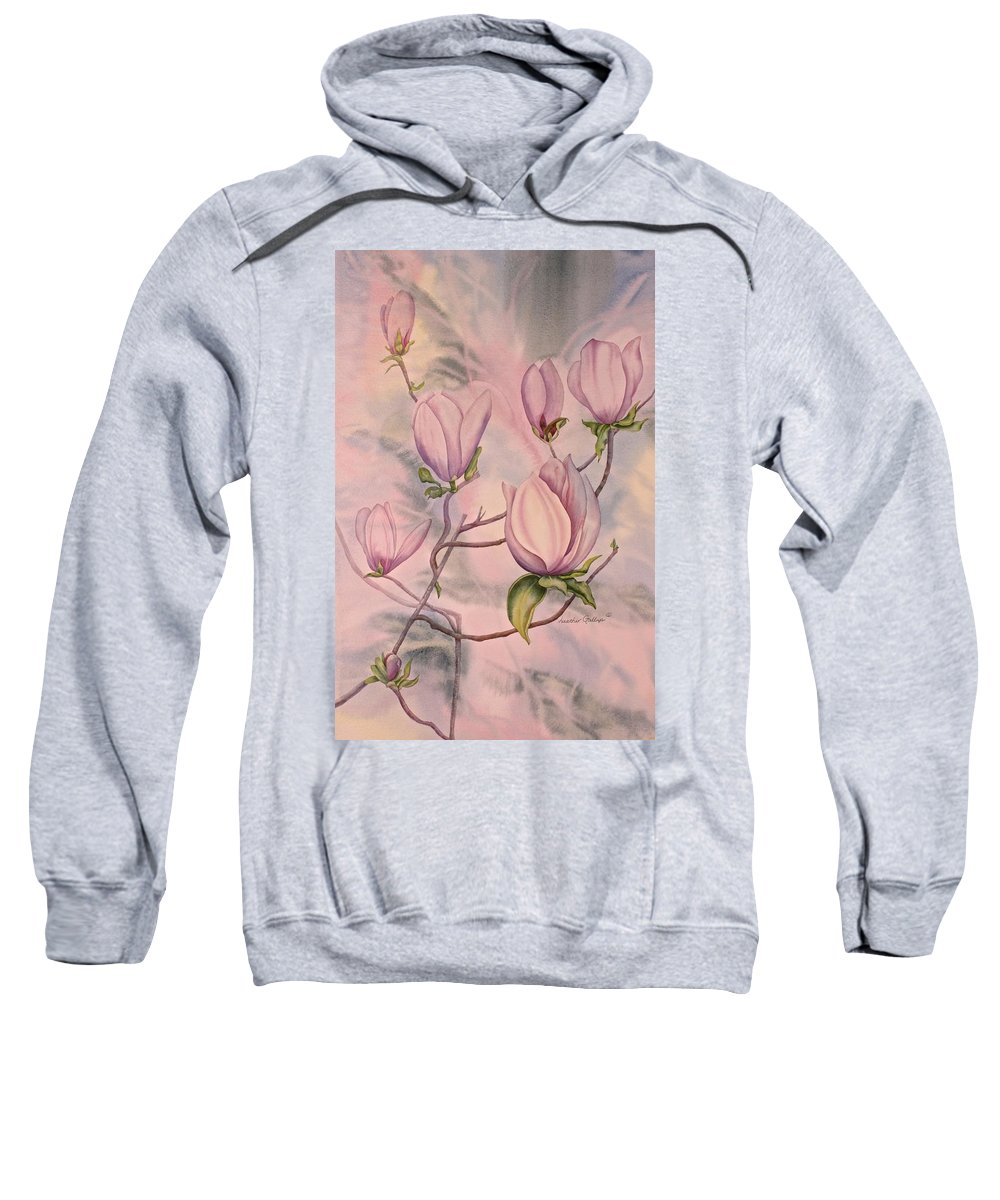Southern Belle Sweatshirt featuring the painting Southern Belle by Heather Gallup