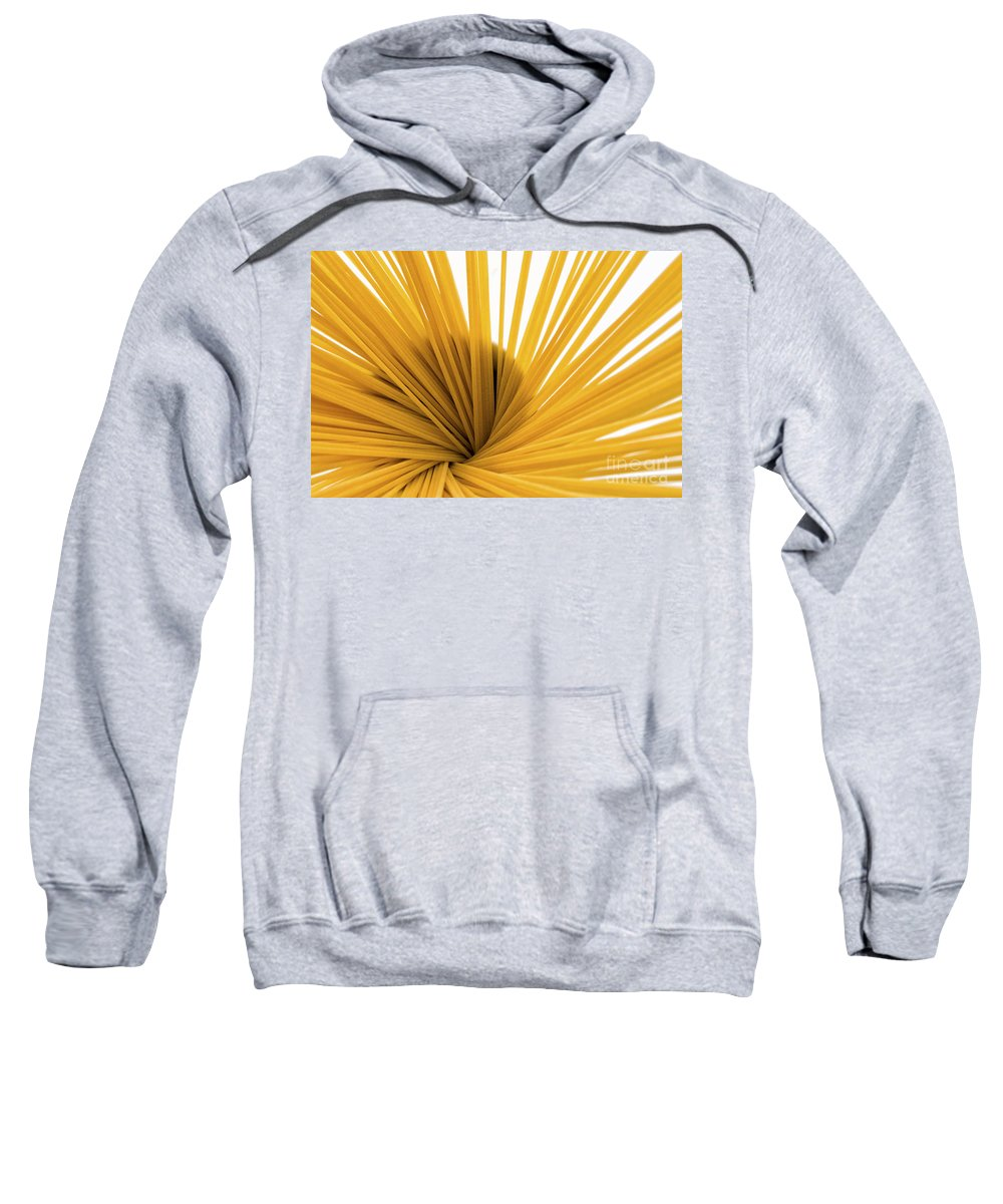 Food Sweatshirt featuring the photograph Spaghetti Spiral by Julian Eales