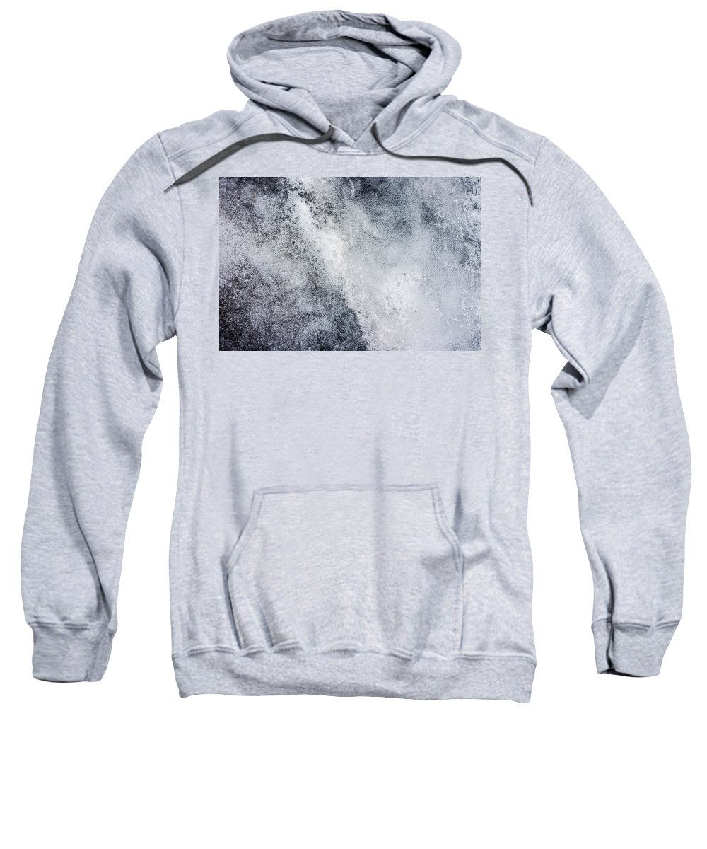 Photograph Sweatshirt featuring the photograph Speckled Sheet by Nicole Parks