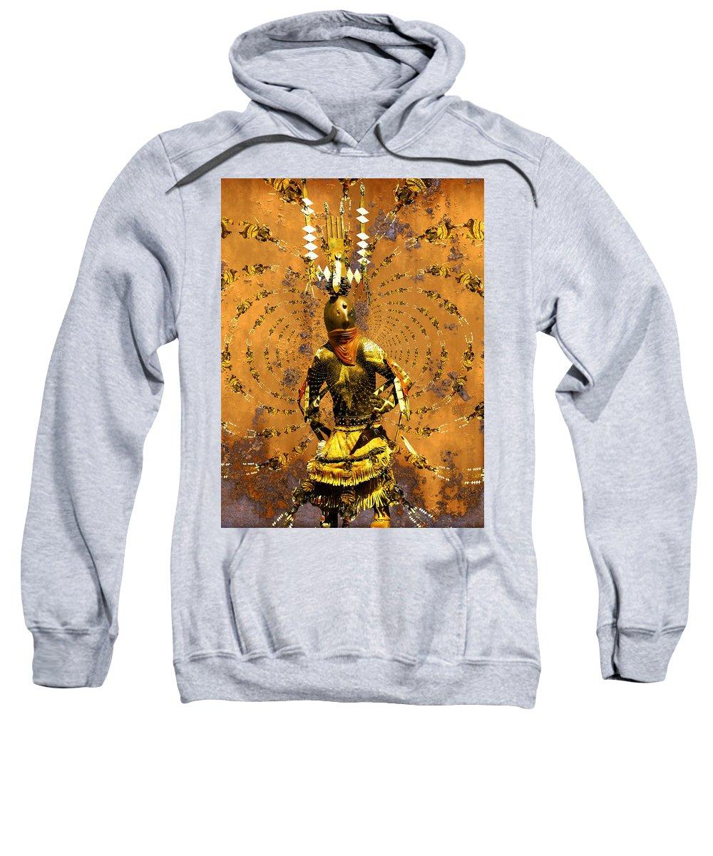 Kachina Sweatshirt featuring the photograph Spirit Dance by Kurt Van Wagner