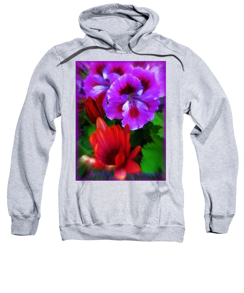 Flowers Sweatshirt featuring the photograph Spring by Deahn   Benware