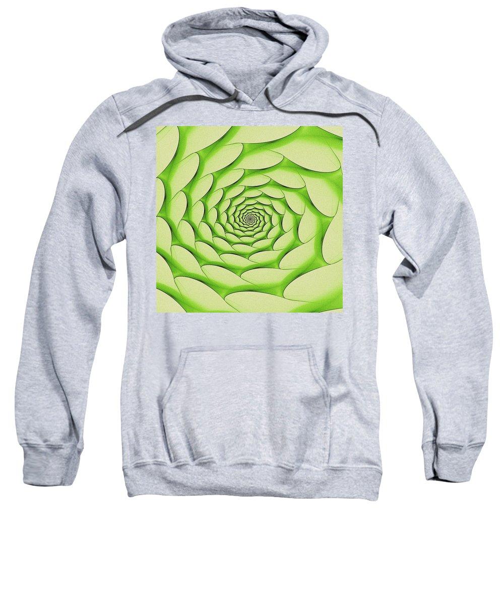 Seasons Sweatshirt featuring the digital art Spring Portal by Doug Morgan