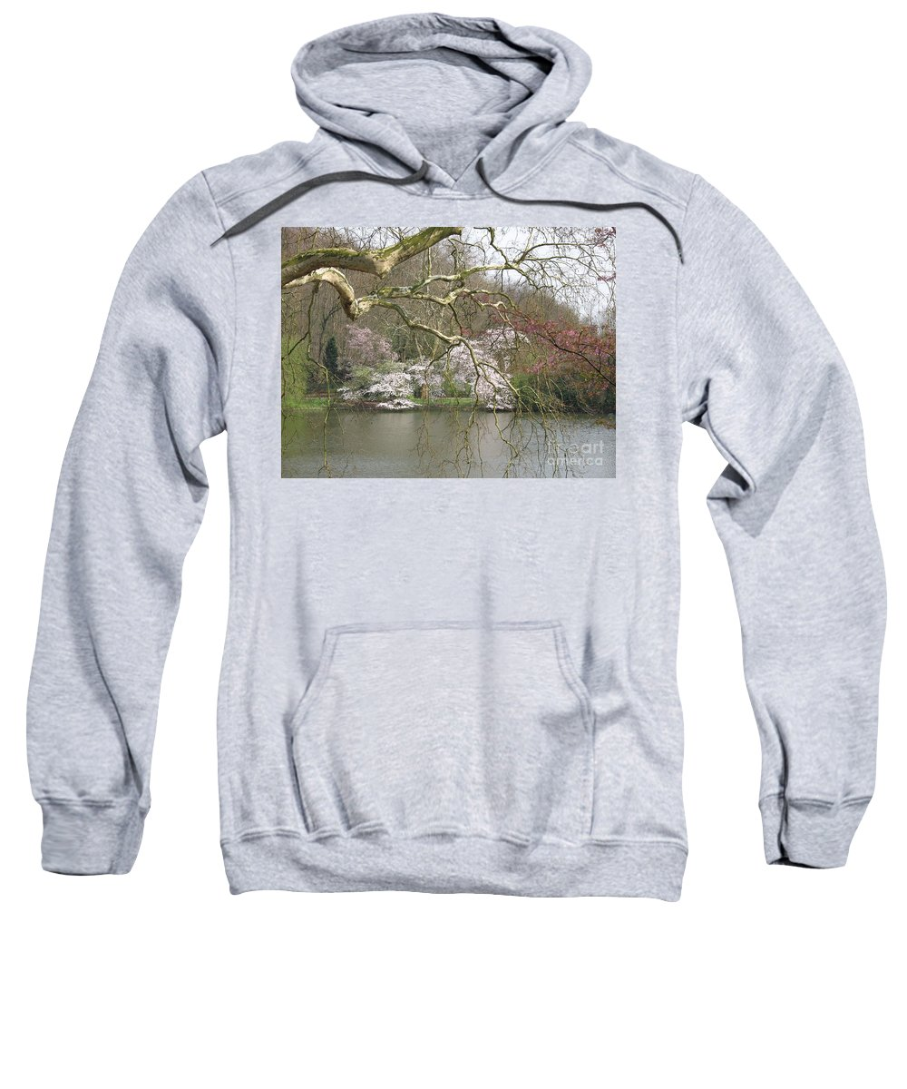 Pond Sweatshirt featuring the photograph Springtime At The Pond by Christiane Schulze Art And Photography