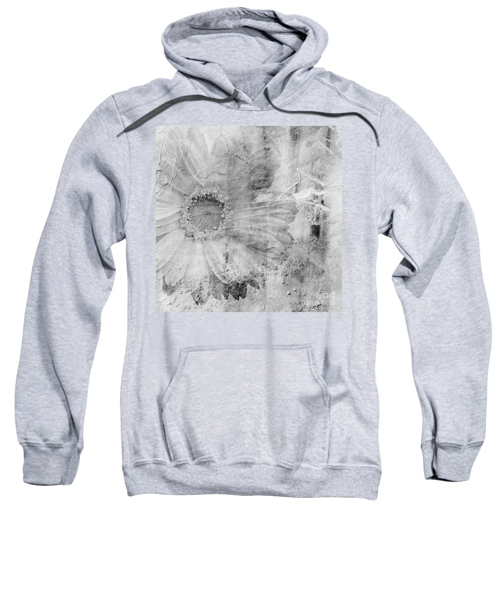 Square Sweatshirt featuring the photograph Square Series - Black White 5 by Andrea Anderegg