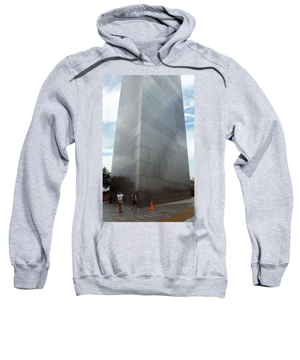 66 Sweatshirt featuring the photograph St. Louis - Gateway Arch 5 by Frank Romeo