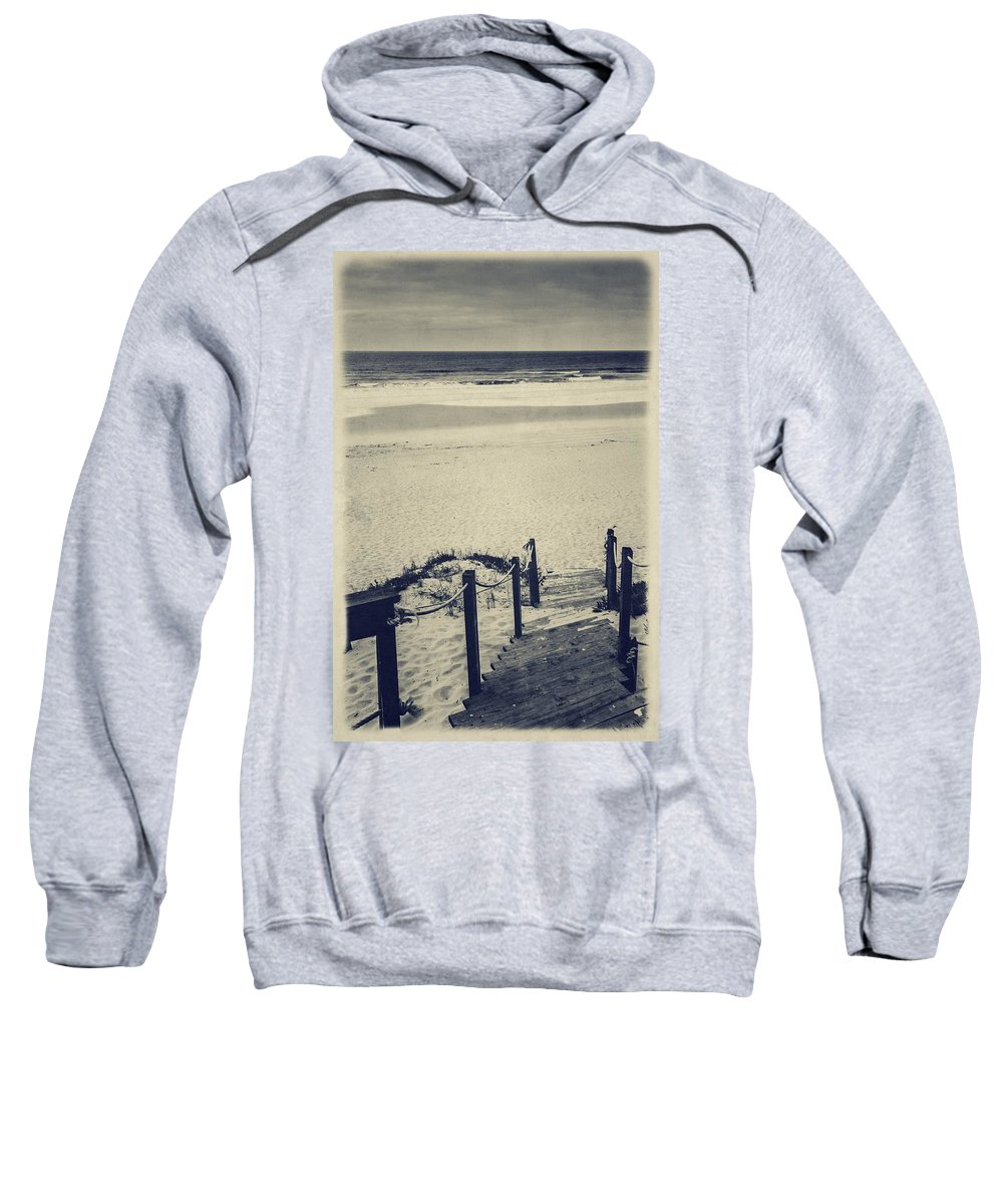 Vintage Sweatshirt featuring the photograph Stairs by Marco Oliveira