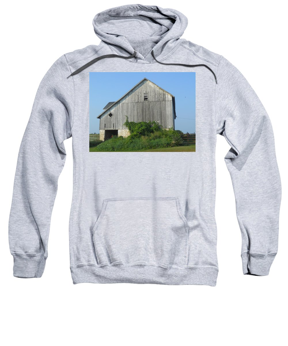 Barns Sweatshirt featuring the photograph Standing Proud by Coleen Harty