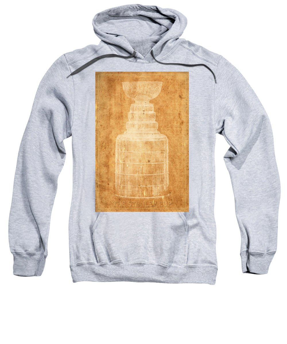Hockey Sweatshirt featuring the photograph Stanley Cup 1a by Andrew Fare