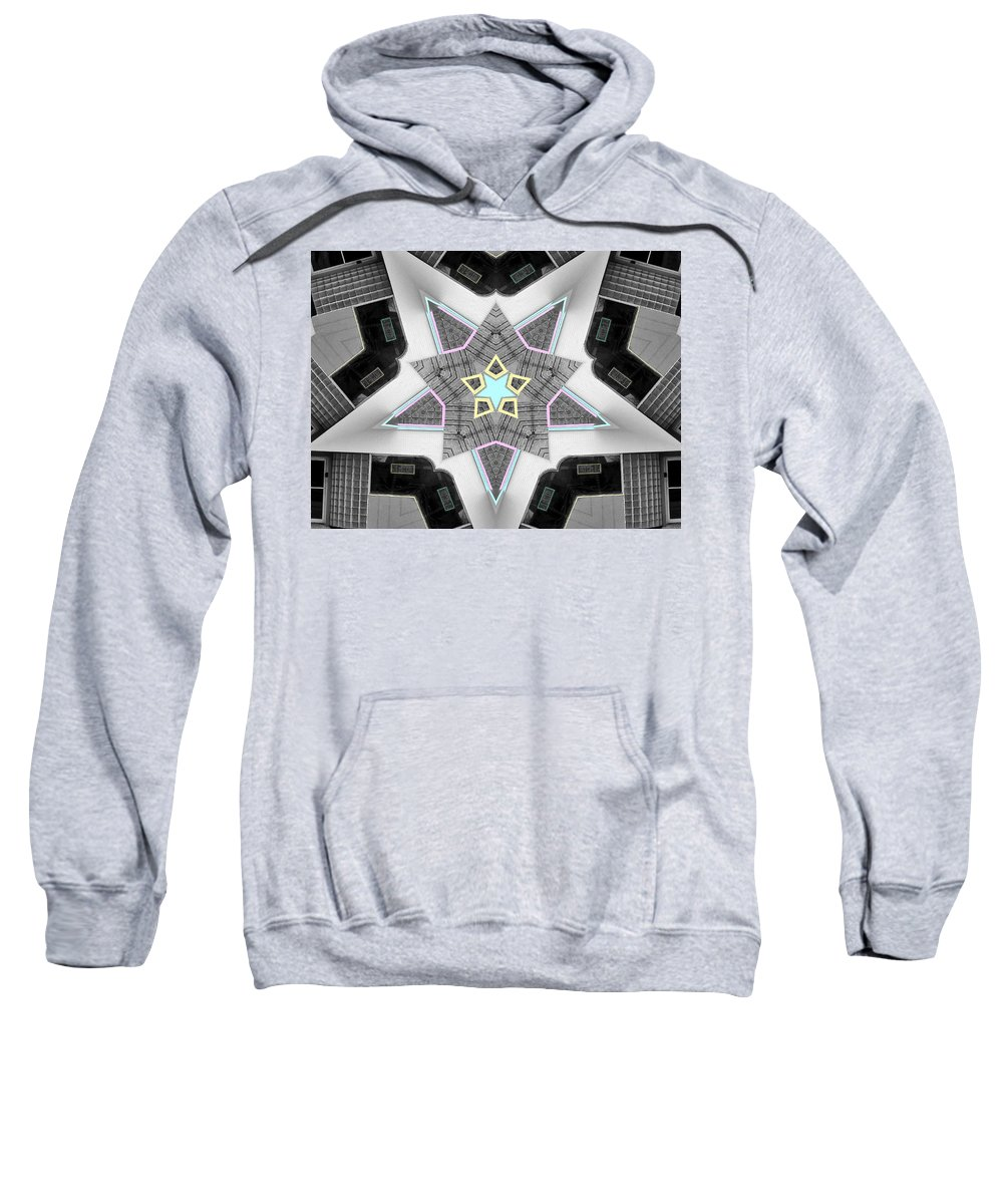 Star System Sweatshirt featuring the photograph Star System by Dominic Piperata