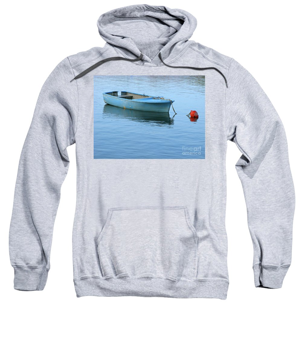 Rowboat Sweatshirt featuring the photograph Still Afloat by Ann Horn