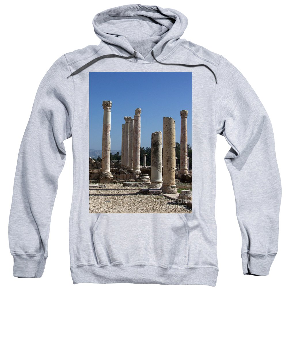Israel Sweatshirt featuring the photograph Still Standing by Kathy McClure