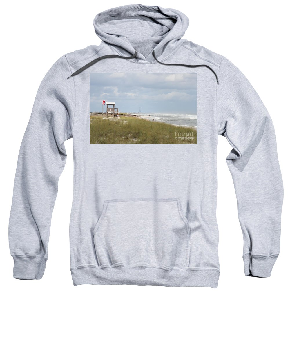 Ft.walton Beach Sweatshirt featuring the photograph Storm Andrea by Michelle Powell