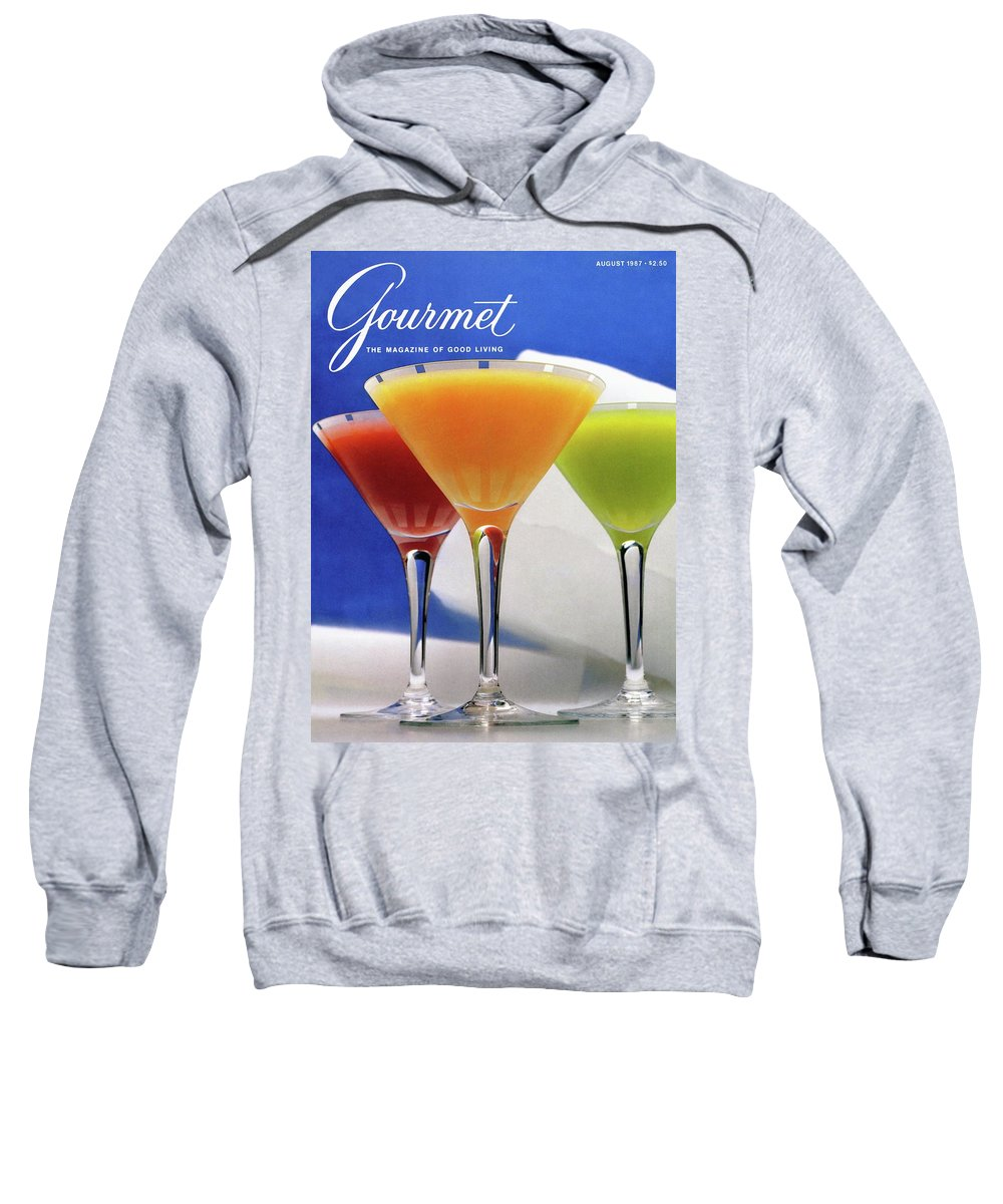 Food Sweatshirt featuring the photograph Summer Cocktails by Romulo Yanes